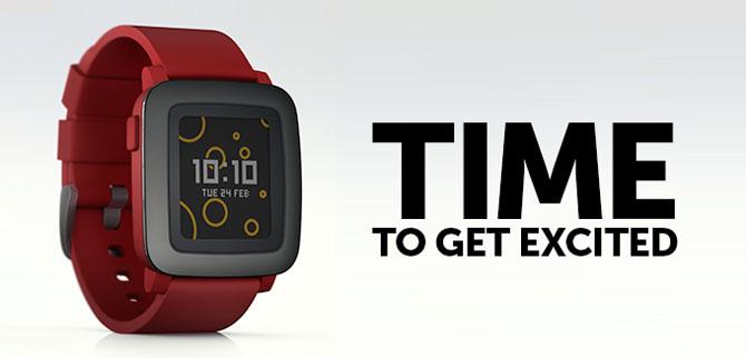 Pebble Time gây sốt trên Kickstarter