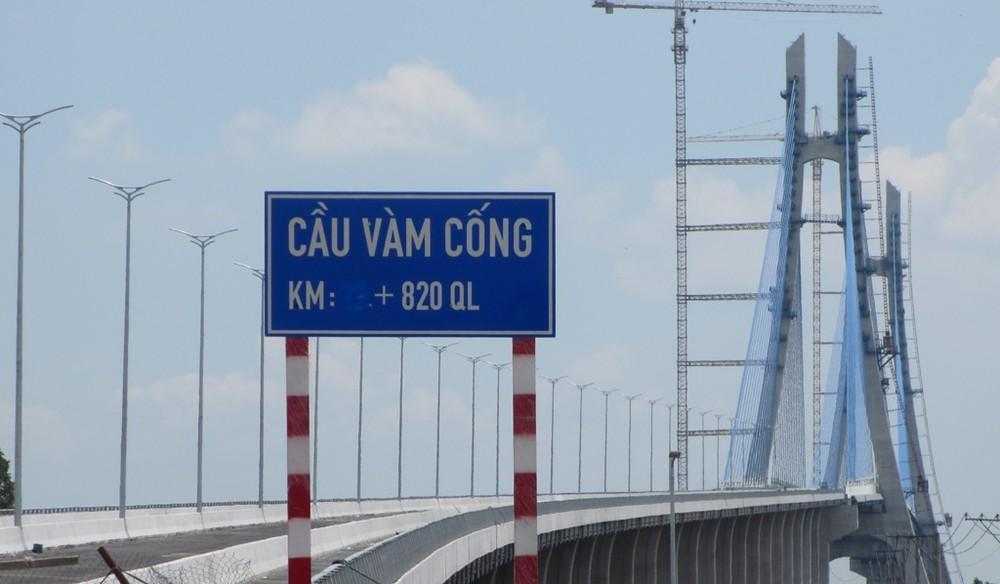Ngày 19/5/2019: Khánh thành cầu Vàm Cống nối Đồng Tháp - Cần Thơ