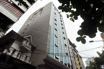 Một công trình xây dựng sai phép ở phố Bùi Thị Xuân (Hà Nội). Ảnh: Hoàng Hà
