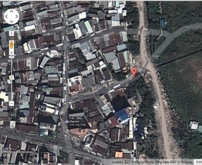 """Toàn cảnh """"trận đồ bát quái"""" nhìn từ Google Map"""