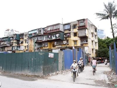 Khu chung cư cũ Thành Công - Hà Nội. Ảnh: Ngọc Châu