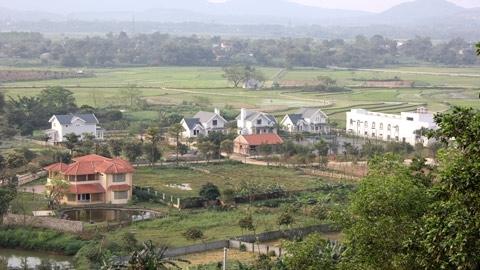 biệt thự, nhà vườn, Ba Vì, Hà Nội, dự án, xây dựng, đại gia