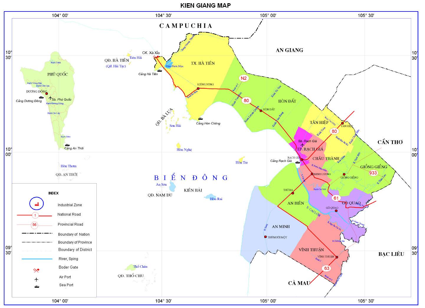Image result for quy hoạch sử dụng đất kiên giang