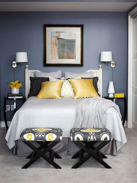 """""""Mê mệt"""" cách phối màu phòng ngủ cực đẹp - 2"""