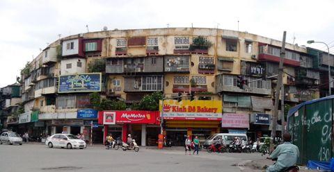 tập thể, dột nát, người dân, sợ hãi, Hà Nội, thành phố