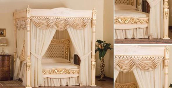 Baldacchino Supreme là chiếc giường ngủ đắt nhất có sẵn trên thị trường hiện nay với giá trị lên tới 6,3 triệu USD (khoảng 133,3 tỷ đồng). Chiếc giường này do nghệ nhân Stuart Hughes trạm khắc bằng tay từ ba loại gỗ là Ash, Cherry và Classy Canopy. Nội thất trên giường được trang trí bằng vàng 24 carat. Chỉ có duy nhất 2 chiếc giường Baldacchino Supreme được sản xuất trên thế giới.