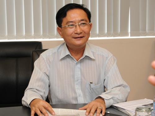 Ông Nguyễn Văn Đực, Phó Giám đốc Công ty Địa ốc Đất Lành