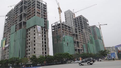 Điều chỉnh cơ cấu căn hộ và chuyển đổi dự án nhà ở thương mại sang nhà ở xã hội đang được triển khai. Ảnh: Linh Anh.