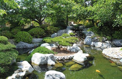 Đẹp lạ lùng vườn Nhật đúng chất - 10