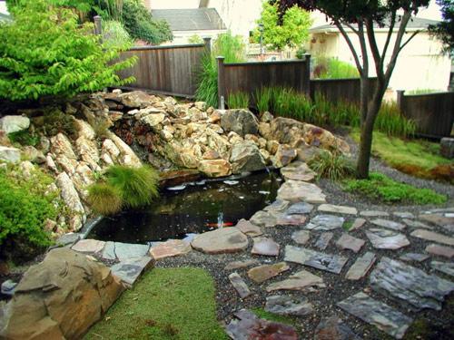 Đẹp lạ lùng vườn Nhật đúng chất - 11