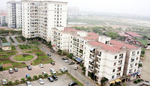 Khu đô thị mới Việt Hưng, quận Long Biên. Ảnh: Đức Giang