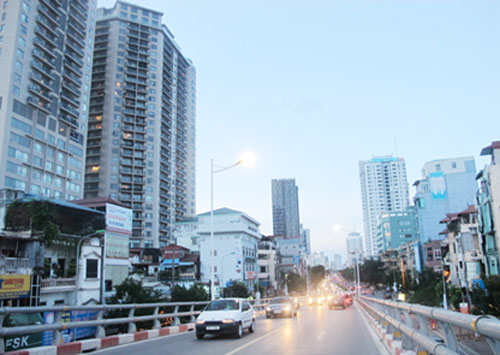 Công trình nhà cao tầng trong nội đô sẽ được kiểm soát chặt chẽ, để đảm bảo mỹ quan, an sinh xã hội.  Ảnh: Linh Anh