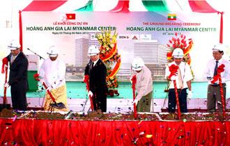 Mảnh đất vàng giữa trung tâm Yangon được bầu Đức mua với giá chỉ 750 USD/m2 là lý do HAGL đầu tư vào thị trường này.