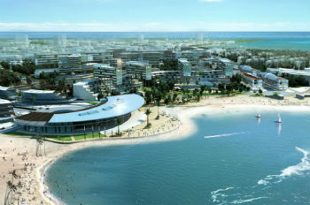Phối cảnh dự án Khu đô thị du lịch biển Cần Giờ