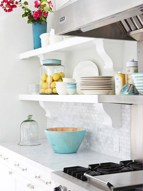 Căn bếp tươi mới với kệ đựng phong cách - 3