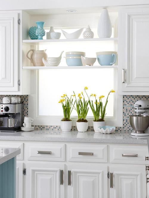 Căn bếp tươi mới với kệ đựng phong cách - 7