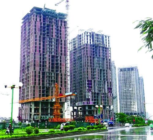 Dự án Usilk city, Hà Đông. Ảnh: Phí Hà
