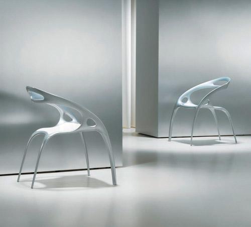 Ghế Go – Ross Lovegrove, Đèn Pendant, nội thất hữu cơ, phong cách thiết kế