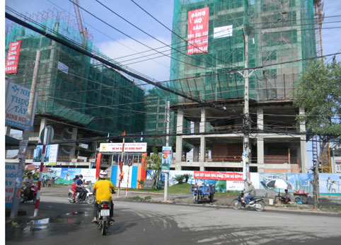 Nhiều dự án ở TP Hồ Chí Minh đang xin chuyển sang nhà ở xã hội.