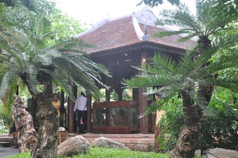 nhà vườn, nhà cổ, hình chóp nón, Hội An, giàu có