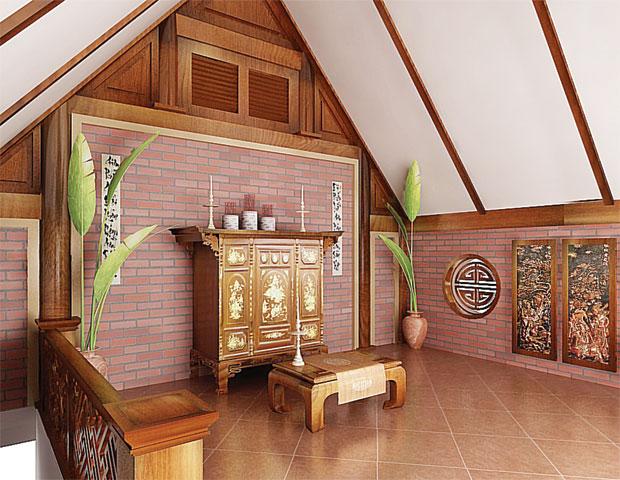 2013111111at19 1384761912 Phòng thờ   một góc tâm linh của người Việt