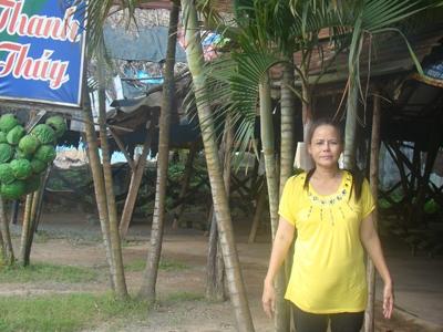 Bà Hương và khu đất bị thu hồi mở rộng Quốc lộ 51B