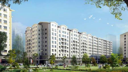chuyển đổi dự án, nhà ở thương mại, nhà ở xã hội, địa ốc Hoàng Quân