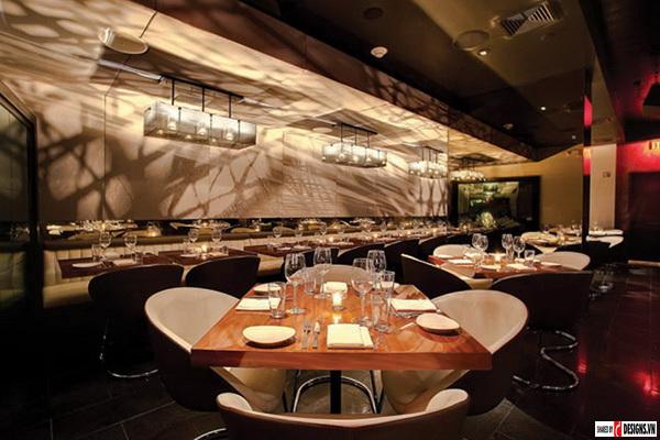 Những mẫu phòng ăn đẹp cho khách sạn