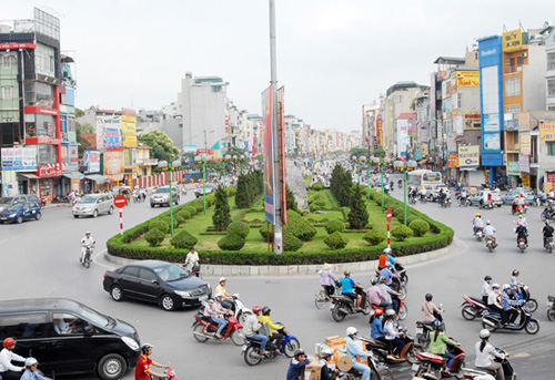 Đoạn đường nối Kim Liên - Ô Chợ Dừa từng được mệnh danh con đường