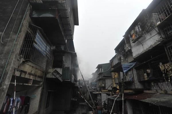 Hà Nội: Cháy lớn tại khu tập thể Nam Đồng 5