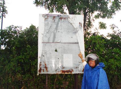 Dự án cụm công nghiệp Tóc Tiên 2 tại xã Tóc Tiên (huyện Tân Thành) chậm triển khai thực hiện do vướng giải phóng mặt bằng.