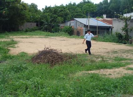 Dự án Khu dân cư số 5 xã Tân Phước (huyện Tân Thành) chậm tiến độ đã bị thu hồi chủ trương đầu tư.