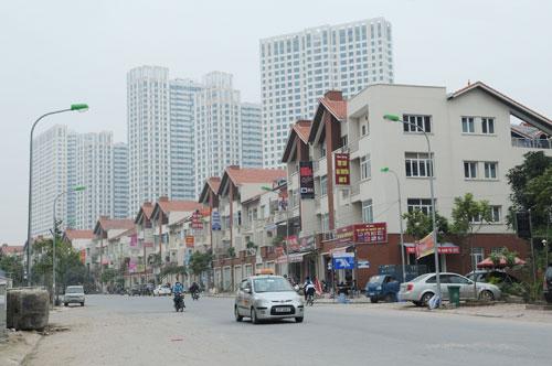 Khu đô thị mới Mỗ Lao, quận Hà Đông. Ảnh: Nguyễn Anh