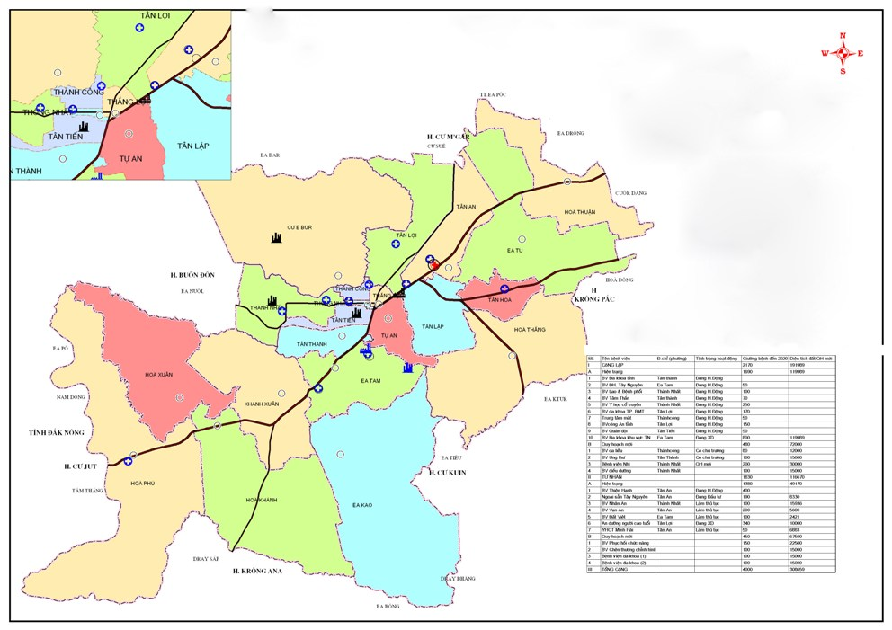 Đắk Lắk: Điều chỉnh Quy hoạch chung thành phố Buôn Ma Thuột