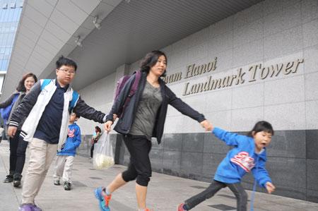 Khoảng 900 hộ dân ở Keangnam cho rằng, mình phải mua phần không gian không có công năng sử dụng