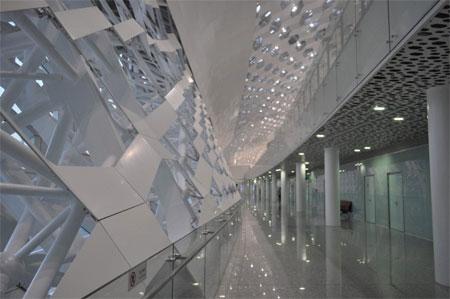 Chi phí xây dựng nhà ga hàng không này được cho là lên tới 1,4 tỷ USD.