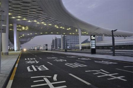 Đây là dự án sân bay đầ tiên của Studio Fuksas.