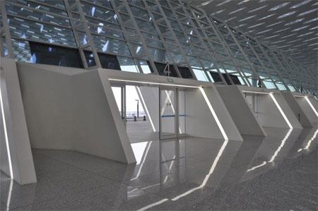 Nhà ga số 3 đã tăng gấp đôi công suất của sân bay quốc tế Bao'an tại Thẩm Quyến.