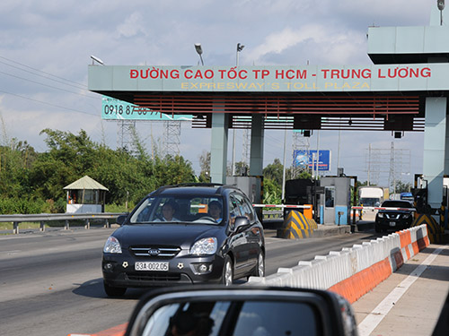Dự án đường cao tốc TP HCM - Trung Lương có chi phí xây dựng chiếm 50% tổng đầu tư Ảnh: Hồng Thúy