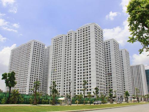 Nhiều căn hộ tại Times City đã được sử dụng. Ảnh: Yên Chi