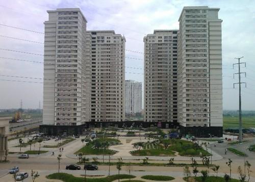 Một góc Khu đô thị Dương Nội, quận Hà Đông.