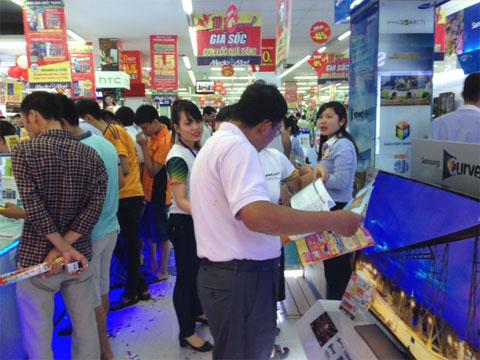 Mạng lưới siêu thị, TTTM trên địa bàn Hà Nội hiện phân bố chưa đồng đều