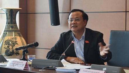 Bí thư Thành Ủy Hà Nội Phạm Quang Nghị. Ảnh: Như Ý
