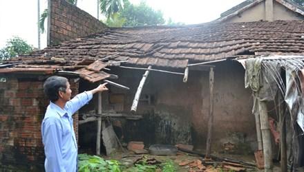 Vì bị vướng quy hoạch dự án Trung tâm Chính trị - Hành chính tỉnh, nên người dân không được sửa chữa nhà đã hư hỏng, xuống cấp