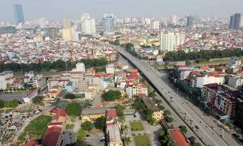 Một góc Thành phố Hà Nội. Ảnh: Công Hùng