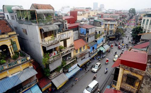Một góc phố cổ Hà Nội.