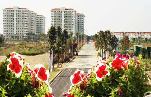 Khu đô thị Đặng Xá (Gia Lâm) sẽ chính thức vận hành 2 trạm xử lý nước thải vào dịp 30-4 tới. Ảnh: Bá Hoạt