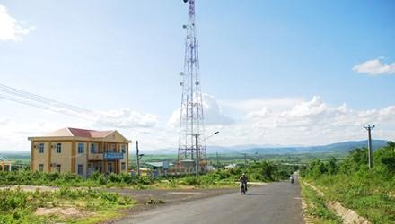 Trung tâm huyện Ia Pa vắng dân cư.