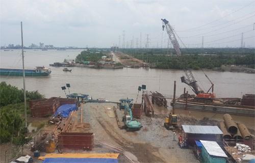 Sắp xây cầu dây văng Bình Khánh nối Nhà Bè và Cần Giờ