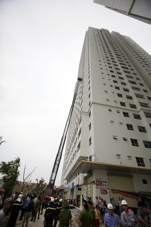 nhà cao tầng, chung cư, PCCC, thang cứu hộ